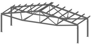 Здания с ферменными конструкциями